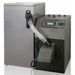 PELLUX 100 o mocy 20kW z palnikiem PBMAX 20.1