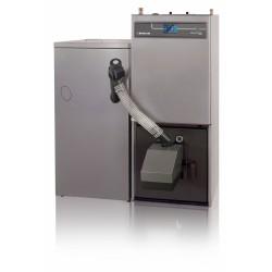 PELLUX 200 Touch o mocy 20kW z palnikiem PBMAX 20.1